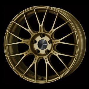ENKEI エンケイ PFM1 ゴールド 225/45R18 国産タイヤホイール4本セット 7.5J 5穴PCD114.3 レヴォーグ オデッセイ 送料無料|rensshop