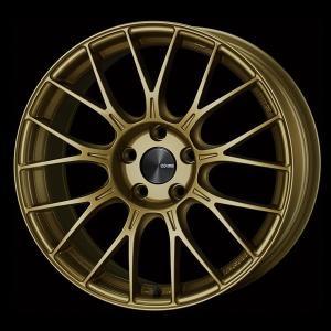 レヴォーグ オデッセイ ヴェゼル 等に エンケイPFM1 ゴールド 7.5J +48 5穴PCD114.3 225/45R18 国産タイヤ ホイール4本セット 送料無料|rensshop