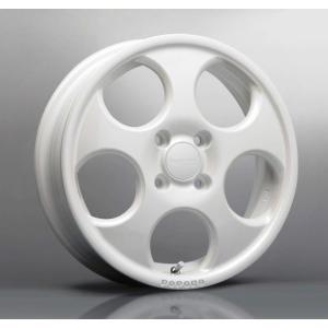 送料無料 ハイペリオン ポポロ ホワイト 白 165/60R15 国産 タイヤ ホイール4本セット ハスラー キャスト 等