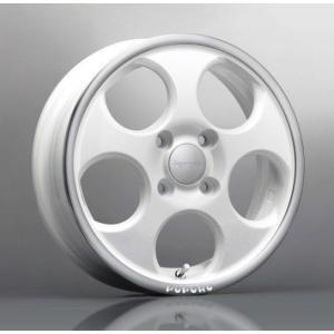 送料無料 ハイペリオン ポポロ 白 ホワイトポリッシュ 165/55R15 国産タイヤ ホイール4本セット ウェイク MH34ワゴンR タント 等