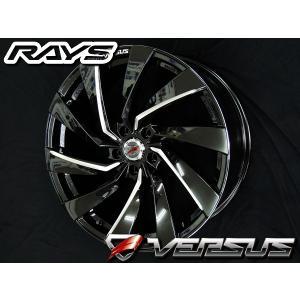 ハリアー レクサスNX RAYS レイズ ベルサス Revolve リボルブ PAC 245/45R20 コンチネンタル タイヤホイールセット 送料無料|rensshop