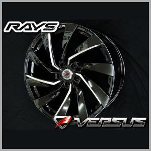RAV4 エクストレイル CX-5 CX-8 RAYS レイズ ベルサス Revolve リボルブ PAC 245/45R20 コンチネンタル タイヤホイールセット 送料無料|rensshop