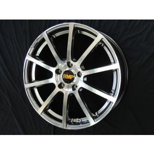 RMP 010F ハイパーメタルコートミラーカット 215/45R18 18インチ 国産タイヤセット ノア VOXY エスクァイア セレナ アクセラ 送料無料|rensshop