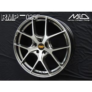 ハリアー レクサスNX  RMP 025F ブラッシュド 245/45R20 軽量 20インチ 送料無料|rensshop