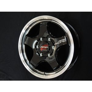 200系ハイエース RMPレーシング R05HC ブラックリムポリッシュ 215/65R16 ヨコハマ パラダ PA03 ホワイトレター荷重対応タイヤ 送料無料|rensshop