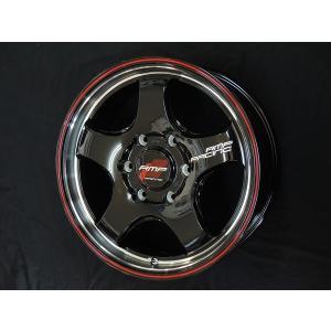 200系ハイエース RMPレーシング R05HC ブラック レッドライン 215/65R16 ヨコハマ パラダ PA03 ホワイトレター荷重対応タイヤ 送料無料|rensshop