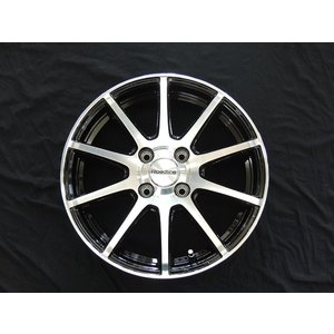 タント N-BOX ムーブ ワゴンR ウェイク ロードライン101S ブラックポリッシュ 165/55R15 国産タイヤ 送料無料 rensshop