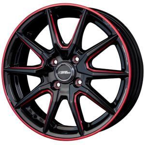 送料無料★クロススピードプレミアムRS10 レッドマシニング 165/55R15 国産タイヤ ホイール4本セット N-BOX ウェイク タント|rensshop