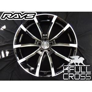 在庫有り★送料無料★RAYS レイズ フルクロス RV5 BAA ブラックコンポジット 20インチ 245/45R20 タイヤ ホイール4本セット レクサスNX ハリアー CX-5 など|rensshop