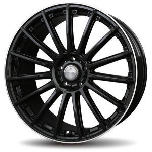 ナットサービス ロクサーニ シュナーベル ブラックリムポリッシュ 215/45R18 国産タイヤ 4本セット プリウスα SAI リーフ 送料無料|rensshop