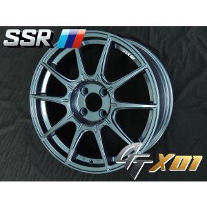 SSR GTX01 LIMITED EDITION ブルーガンメタ 205/45R17 国産タイヤ アクア ヴィッツ スペイド フィールダー ノート キューブ 送料無料 rensshop