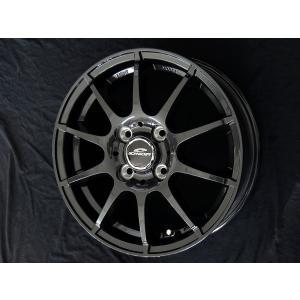 シュナイダースタッグ ガンメタ 155/65R13 グッドイヤー 国産 低燃費 タイヤ ホイール4本セット パレット バモス ライフ 送料無料 rensshop