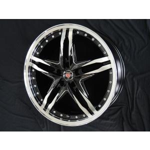セレナ などに! シュタイナーLSV ブラックポリッシュ 225/40R18  国産タイヤ ホイール4本セット 送料無料|rensshop