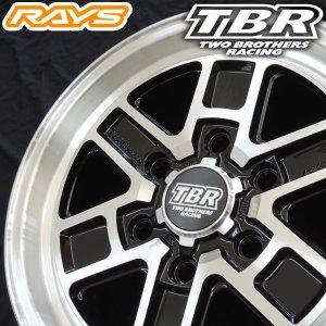 200系ハイエース RAYS レイズ TBR TB-01 BAZ 16インチ 215/65R16 109/107R グッドイヤー ナスカー ホワイトレター 荷重対応 送料無料|rensshop