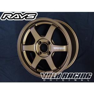 アクア ヴィッツ フィールダー RAYS レイズVOLK ボルクレーシング TE37 SONIC ソニック BR ブロンズ 16inch 7.0J+35 4H 195/50R16 国産タイヤ|rensshop
