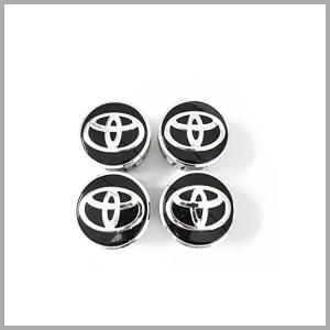 トヨタ純正センターキャップ4個 ブラック 品番:42603-48140 rensshop