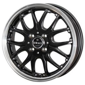 ナットサービス ロクサーニ トリロジー ブラック 165/55R15 国産タイヤ ホイール4本セット ワゴンR タント キャスト ウェイク 送料無料 rensshop