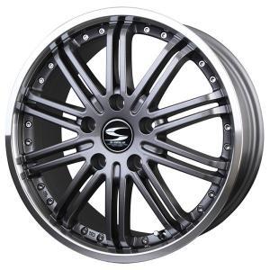 ツインスポーク10 ガンメタ 215/45R18 国産タイヤセット プリウスα SAI リーフ 送料無料|rensshop
