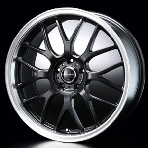 送料無料 ユーロスポーツ タイプ805 セミグロスブラック 215/40R18 国産タイヤ ホイール4本セット ノア VOXY等 rensshop