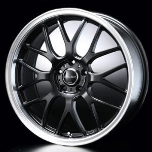 送料無料 ユーロスポーツタイプ805 セミグロスブラック 215/45R17 国産タイヤ ホイール 4本セット PCD100 プリウス 等に|rensshop