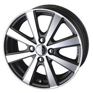 スマック VI-R 165/55R14 国産タイヤ ホイール 4本セット バモス アトレー 送料無料|rensshop