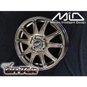 ファイナルスピード GR VOLT ボルト ブロンズ 165/55R14 国産タイヤ ホイール 4本セット 送料無料|rensshop