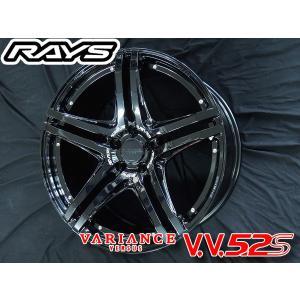 送料無料★ RAYS レイズ VERSUS ベルサス ヴェリエンス V.V.5.2S VH 20インチ 225/35R20 245/30R20 タイヤ ホイール4本セット クラウン などに|rensshop
