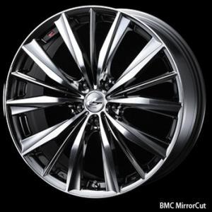 送料無料 レオニスVX BMCMC メッキ 215/45R17 国産タイヤ ホイールセット プリウス 86 レクサスCT等|rensshop
