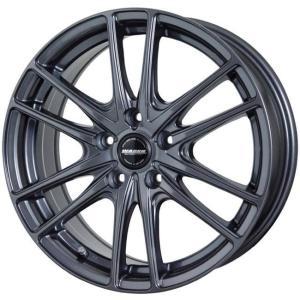 送料無料 ヴァーレンW03 ガンメタリック 215/45R17 国産タイヤ ホイール4本セット PCD100 86 BRZ プリウス レクサスCT|rensshop