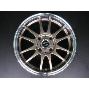 レーシングタイプX6 ブロンズ 165/45R16 国産タイヤ ホイール4本セット 軽自動車用 送料無料|rensshop