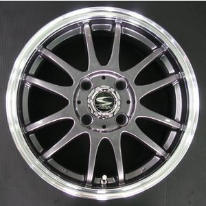 レーシングタイプX6 ガンメタ 165/45R16 国産タイヤ ホイール4本セット 軽自動車用 送料無料|rensshop