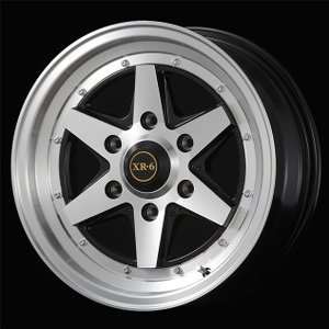 ファブレス ヴァローネXR-6 1ピース グッドイヤーナスカー 215/65R16 109/107R  200系ハイエース用タイヤ ホイール4本セット 送料無料|rensshop