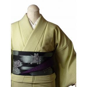 着物 レンタル セット Mサイズ レディース 江戸小紋 緑 ゴマ文|rental-kimono