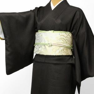 着物 レンタル Mサイズ 袋帯セット 濃茶・万筋・江戸小紋|rental-kimono