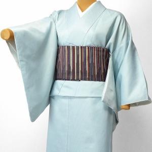 着物 レンタル セット Lサイズ レディース 江戸小紋 水色・万筋|rental-kimono