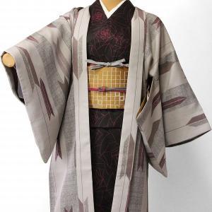 羽織 レンタル オプション レディース 紫 矢絣