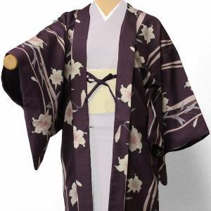 羽織 レンタル オプション レディース 紫ユリ
