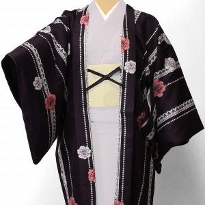 羽織 レンタル オプション レディース 紫薔薇レース