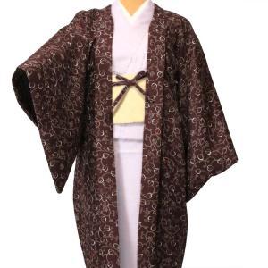 羽織 レンタル オプション レディース エンジ唐草 rental-kimono