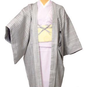 羽織 レンタル オプション レディース 白ピンク格子 rental-kimono