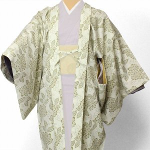 羽織 レンタル オプション レディース 白蟹牡丹 rental-kimono
