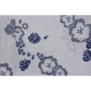 半幅帯 レンタル 紺・梅 変更オプション(春秋冬用)|rental-kimono