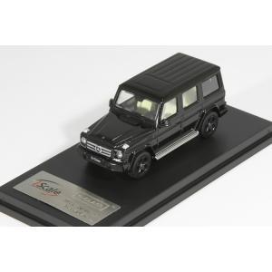 I Scale 1/64 メルセデス・ベンツ Gクラス W463 ブラック トミカ・京商サイズ