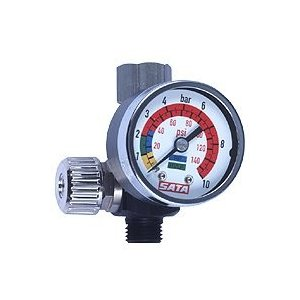 サタSATA マイクロメーター ゲージ付き手元空気圧力調整器 repair-and-paint