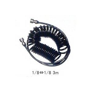 エアブラシ用 コイルホース HPA-CH31 1/8-1/8 3m アネスト岩田|repair-and-paint