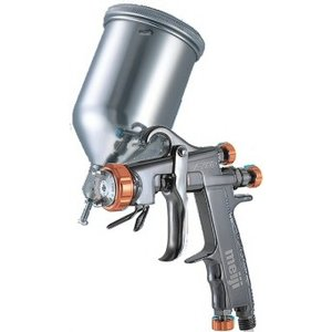 明治機械製作所 F-ZERO TypeR カップ付き 重力式スプレーガン 低圧仕様|repair-and-paint