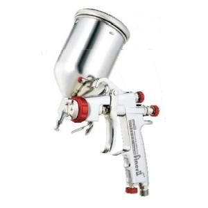 明治機械製作所 ファイナーFINER II-Plus カップ付き 重力式スプレーガン|repair-and-paint