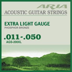 ARIA AGS-200XL PHOSPHOR BRONZE 11-50