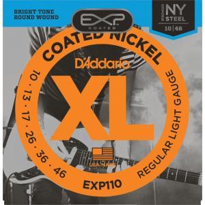 D'Addario EXP110 Coated Nickel Wound Light 10-46|repairgarage