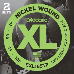 D'Addario XL EXL165TP NICKEL WOUND ツインパック|repairgarage